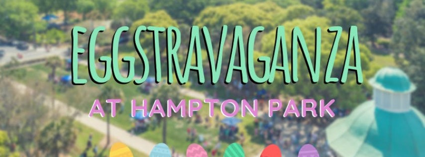 Egg-stravaganza in Hampton Park