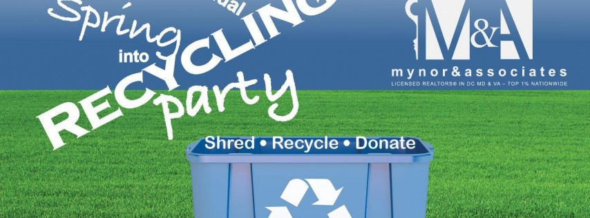 Spring into Recycling Shredding Party