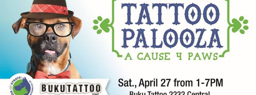 Tattoopalooza: A Cause 4 Paws