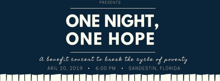 One Night, One Hope: A Benefit Concert presented by David Seering