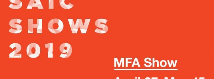 2019 MFA Show Opening Reception
