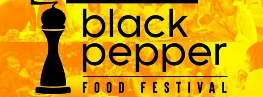 Black Pepper Black Restaurant Food Festival