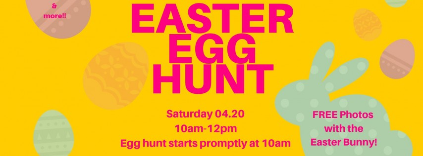 Free Easter Egg Hunt & Bunny Photos