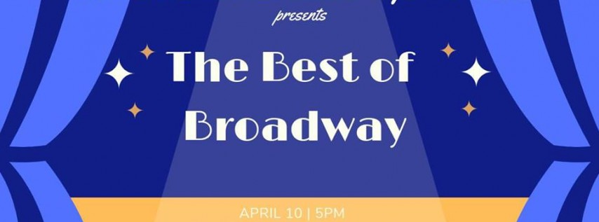 The Best of Broadway Royal Ram Band Spring Concert