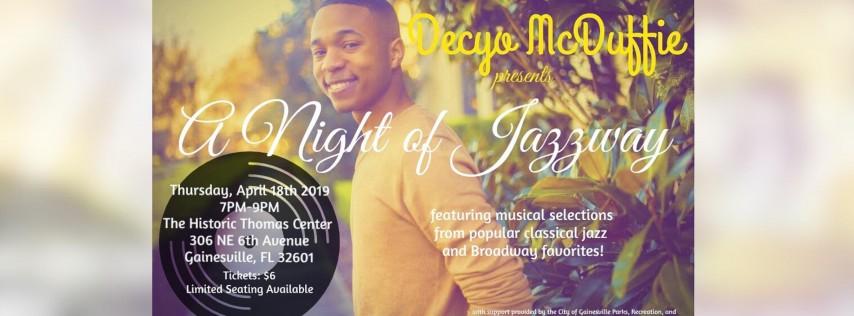Decyo McDuffie's Live Debut Concert -