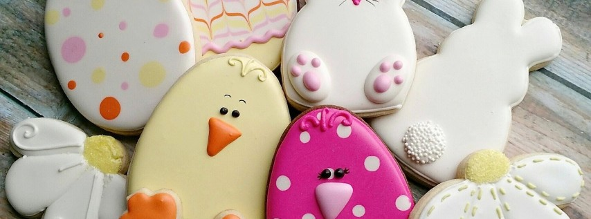 Beginner Easter Cookie Decorating Class