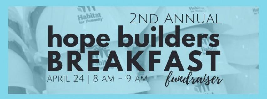 2nd Annual Hope Builders Breakfast