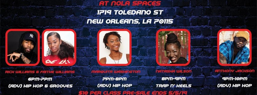 THE COLLAB NOLA: MEMORIAL DAY WEEKEND DANCE INTENSIVE & NETWORKING MIXER