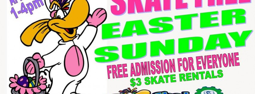 Skate Free Easter Sunday