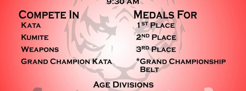 8th Annual Pan American Goju karate Tournament