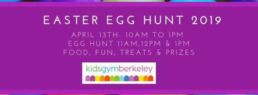 Easter Egg Hunt 2019 | Kids Gym Berkeley