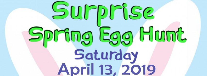 Surprise Spring Egg Hunt 2019