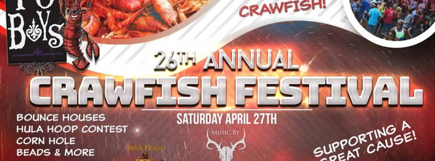 26th Annual Downtown Crawfish Festival