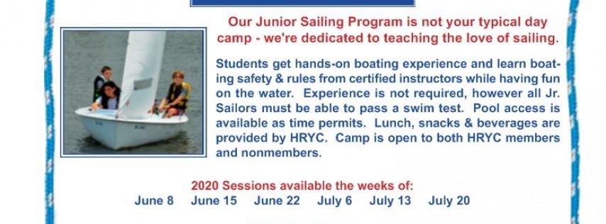 HRYC Jr. Sailing Camp