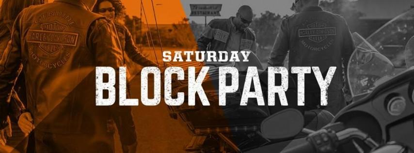 Saturday Block Party