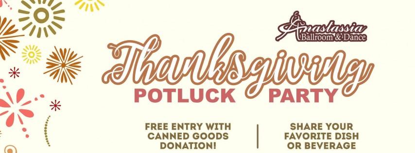 Thanksgiving Potluck Dance Party