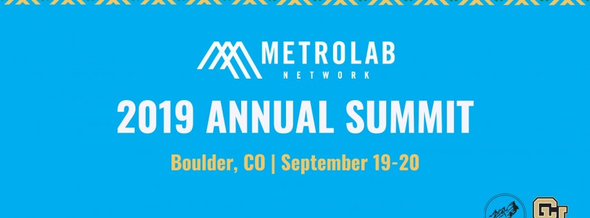 MetroLab Network 2019 Annual Summit