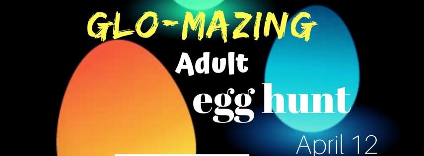 Glo-Mazing Adult Egg Hunt