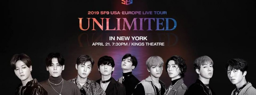 2019 SF9 USA - Europe Live Tour [Unlimited]