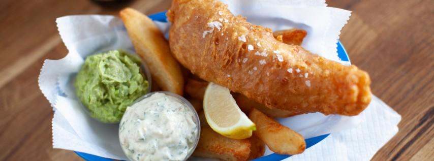 Fish n' Chips Pop-Up @ J. Wakefield Brewery