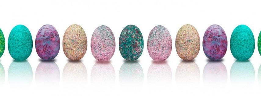 Easter Egg Hunt & Pizza!