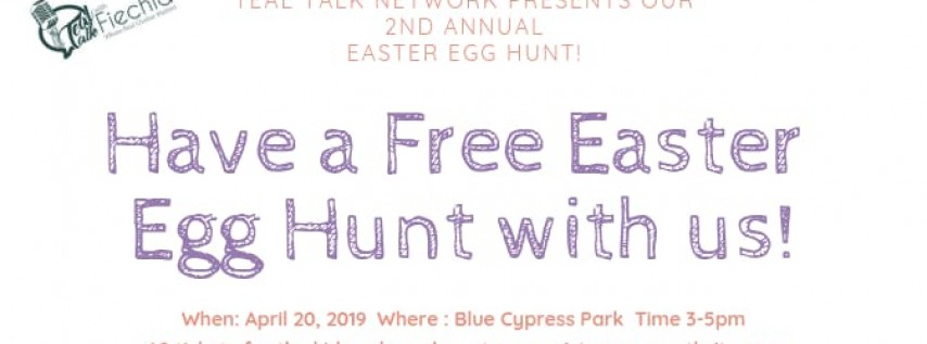 Happy Egg Hunting with Teal Talk Network!