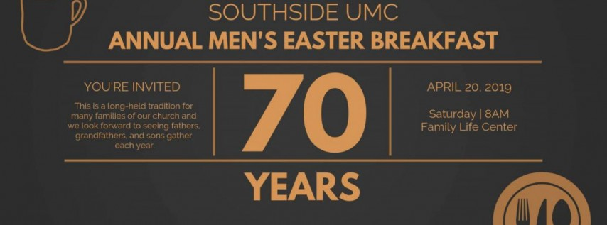 SUMC's 70th Annual Men's Easter Breakfast