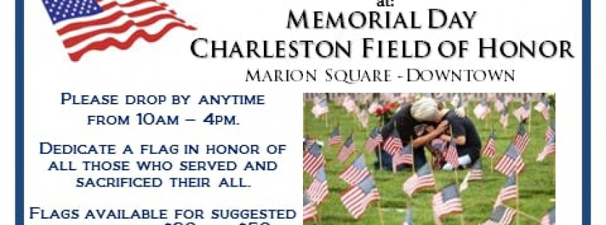 Memorial Day Charleston Field of Honor