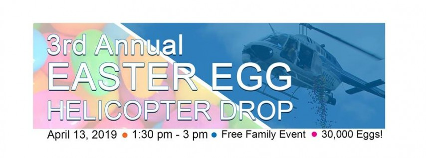 3rd Annual Easter Egg Helicopter Drop