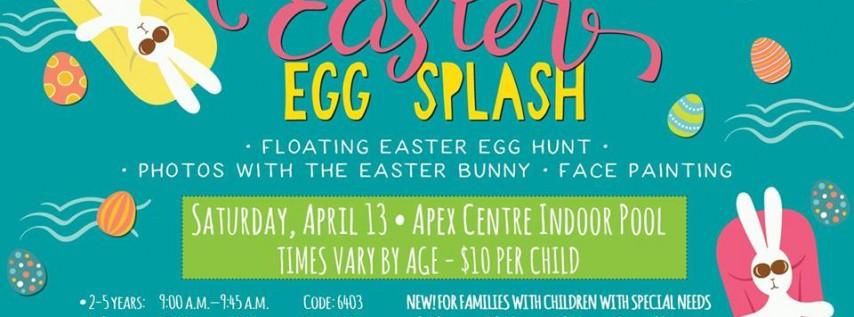 Easter Egg Splash at the Apex Centre