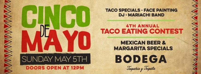 Cinco de Mayo Party at Bodega Taqueria y Tequila