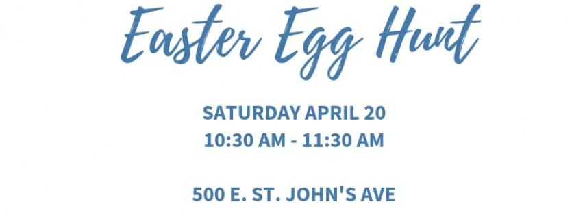 Petra Preschool's Easter Event