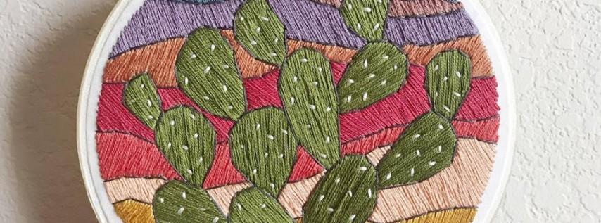 Cinco de Mayo - Embroidery 101 Workshop