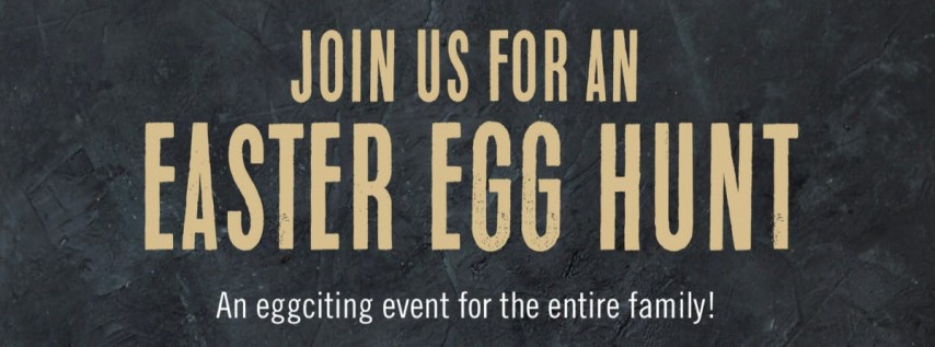 Easter Egg Hunt at Brimstone Woodfire Grill