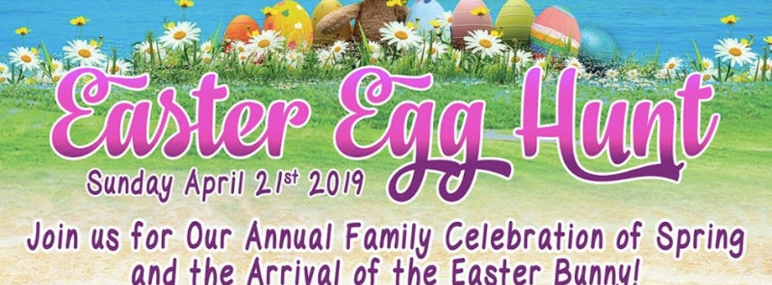 Easter Egg Hunt & Day of Family Fun at Ocean Manor Beach Resort **FREE Event!**