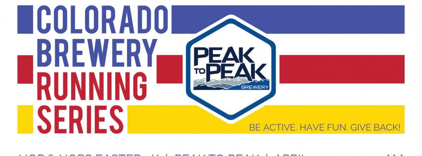 Hop & Hops Easter 5k - Peak to Peak - Colorado Brewery Running Series