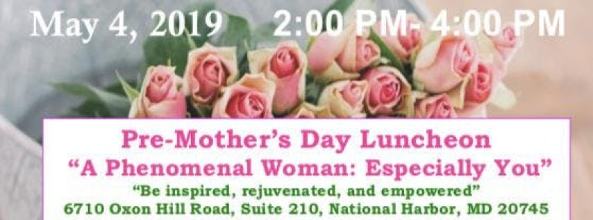 Pre-Mother's Day Luncheon