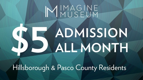 $5 Admission ALL Month at Imagine Museum