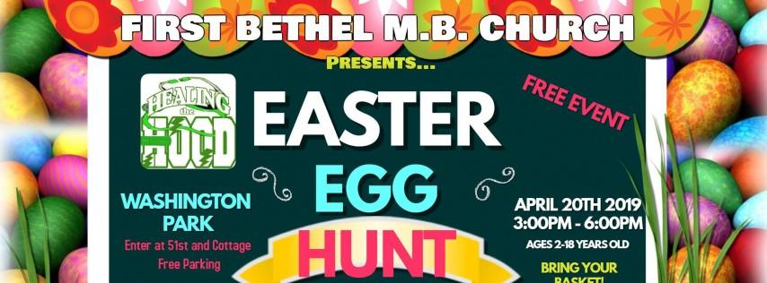 Healing The Hood Chicago: Easter Egg Hunt