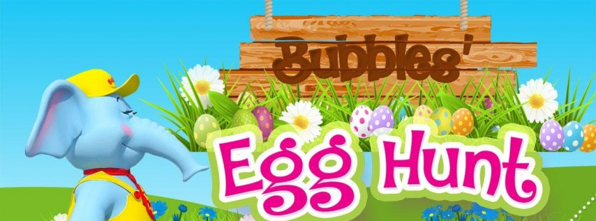 Bubbles Egg Hunt and FREE Photos with the Easter Bunny!
