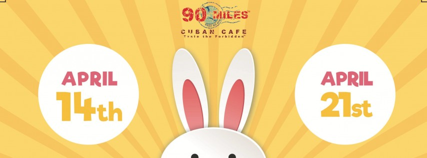 Easter Bunny Brunch at 90 Miles (LOGAN SQUARE)
