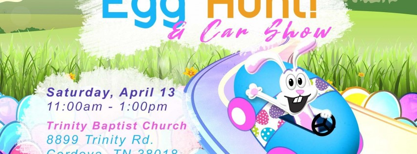 Easter Egg Hunt and Car Show