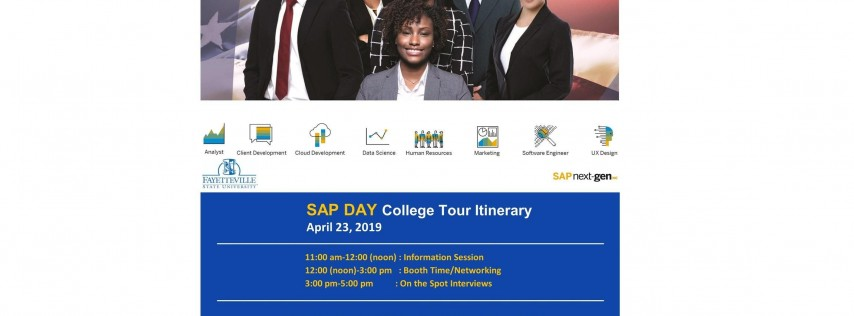 SAP Day College Tour 2019