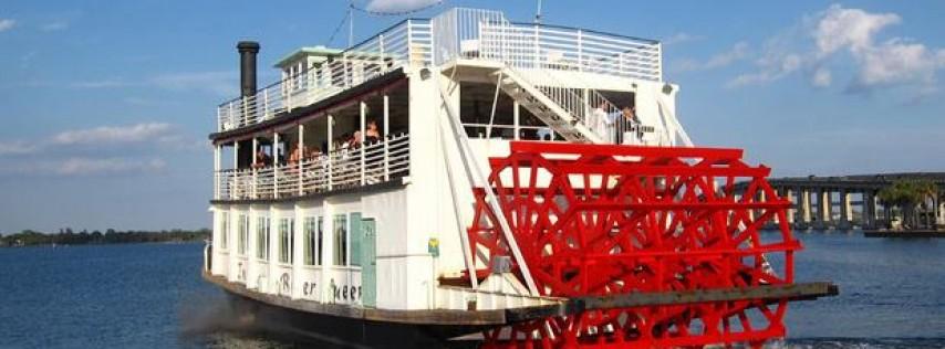 Sunday Scenic Paddlewheel Boat River Cruise $30pp