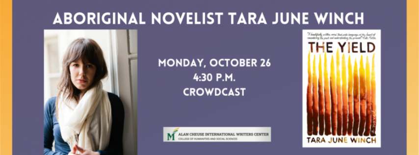 Fall for the Book presents Dispossession and Discovery with Tara June Winch
