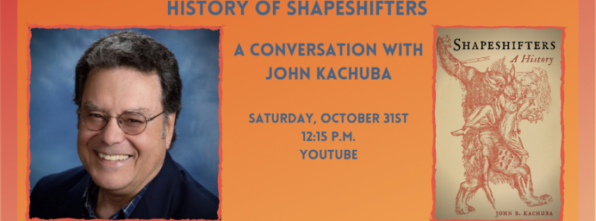 Fall for the Book presents Halloween Special: A Chilling History of Shapeshifter