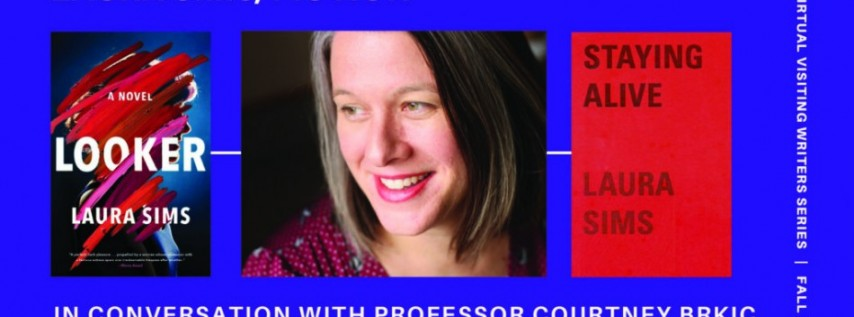 Fall for the Book presents A Conversation between Laura Sims and Courtney Brkic