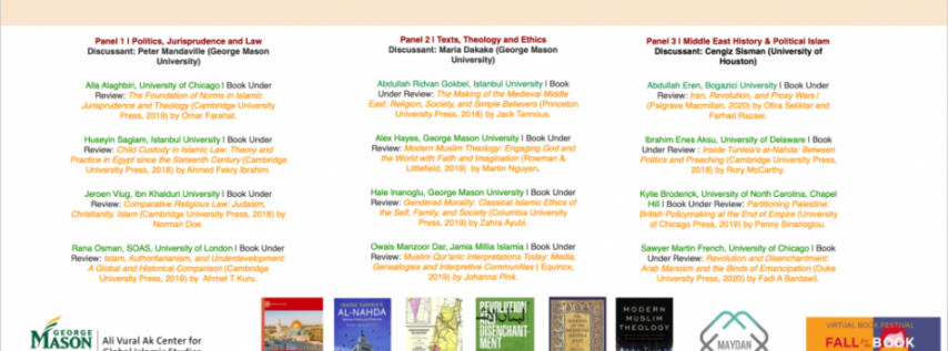 Fall for the Book presents 2020 Graduate Student Book Review Colloquium