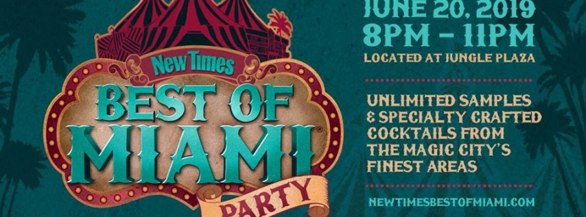 New Times' Best of Miami Party