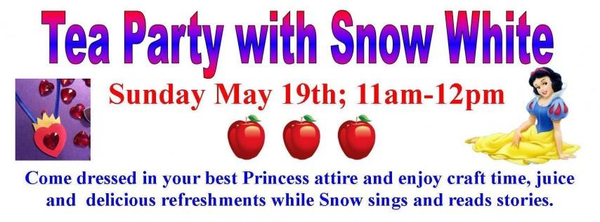 Tea Party with Snow White